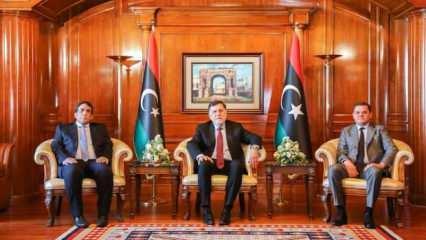 Libya'da kurulan yeni hükümet göreve başladı