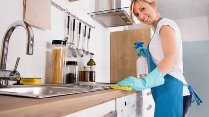 Mermerit nedir, Mermerit tezgah nasıl temizlenir? Mermerit tezgah temizlemenin püf noktaları