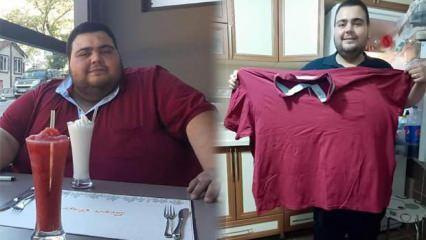 Ankara'da 34 yaşındaki esnaf mide küçültme ameliyatıyla 129 kilo verdi!