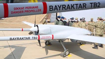 Azerbaycan Türk SİHA'ları için özel üs kurdu
