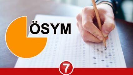 2021 KPSS, DGS, YDS, ALES, YÖKDİL sınavları ne zaman? ÖSYM sınav takvimi!