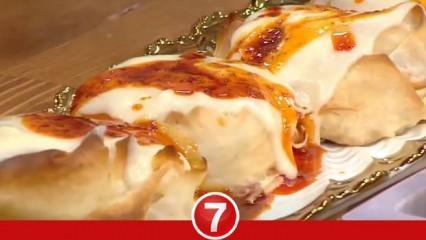 Sarımsak ve yoğurt soslu Rumeli Böreği nasıl yapılır? Rumeli böreği tarifi...