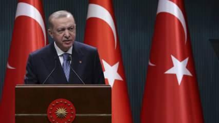 Son Dakika... Başkan Erdoğan'dan 'kısa çalışma ödeneği' açıklaması