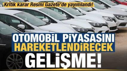 Kritik karar Resmi Gazete'de yayımlandı! Otomotivde taksit düzenlemesi