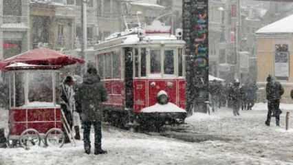 Meteorolojiden İstanbul için kar uyarısı! 2 güne dikkat!
