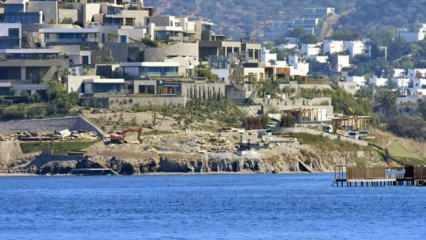 Türkiye'nin en pahalı mahallesi Bodrum Yalıkavak'ta imar durduruldu