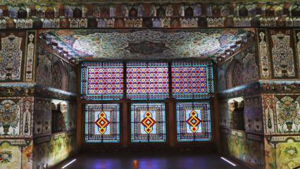 600 yıllık çınarların gölgesinde bir mimari harikası: Şeki Han Sarayı