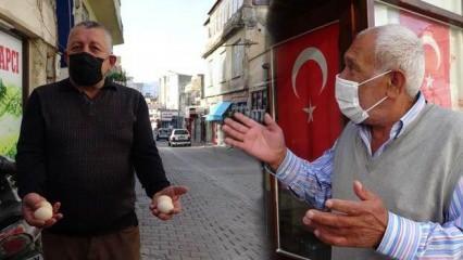 Adana'da tarihi çarşıya gökten yağan 'yumurta' esnafı tedirgin ediyor!