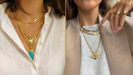Altın kolye zincir modelleri ve fiyatları! En güzel zincir kolye modelleri