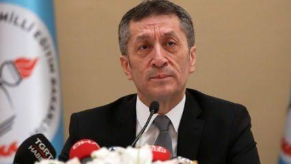 Milli Eğitim Bakanı Selçuk'tan okullar için son dakika açıklaması...