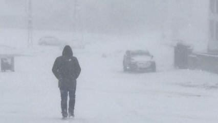 Bingöl'de kar yağışı ve tipi etkili oldu: 12 köye ulaşım sağlanamıyor