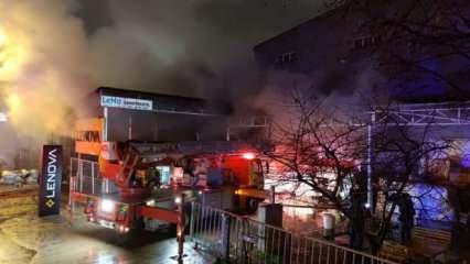 Bursa'da üç fabrikayı küle çeviren yangın: 50 milyon lira zarar var!