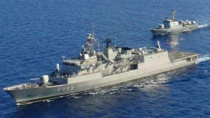 Fransa'dan Yunanistan'a ücretsiz savaş gemisi teklifi