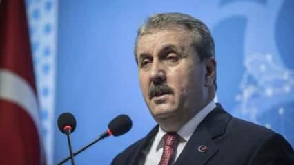 Destici'den Cumhurbaşkanı Erdoğan'a tebrik telefonu