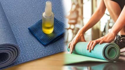 En kolay pilates matı nasıl temizlenir? Pilates matını temizlemenin en pratik yolu