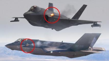 Dumanlar yükseldi: F-35 kendi kendine hasar verdi