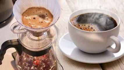 Filtre kahvenin faydaları nelerdir? Filtre kahve zayıflatır mı?