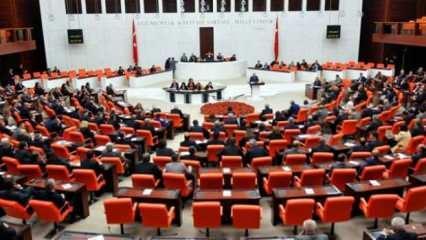TBMM'de CHP, HDP ve İYİ Parti'nin grup önerileri kabul edilmedi