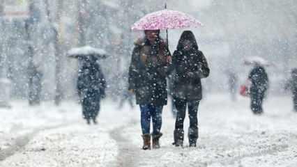İstanbul'a kar geliyor! Meteoroloji'den peş peşe açıklamalar