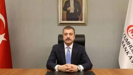 Merkez Bankası Başkanı Kavcıoğlu'ndan mesaj
