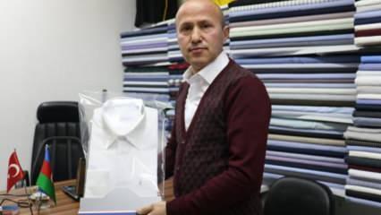 Muhsin Yazıcıoğlu için dikip teslim edemediği gömleğe 12 yıldır gözü gibi bakıyor!