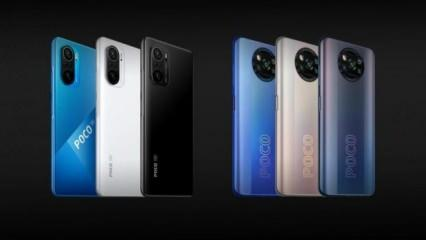POCO F3 ve POCO X3 Pro resmen tanıtıldı