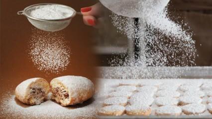 Pudra şekeri nedir ve pudra şekeri ne maddesidir? Pudra şekerinin kullanım alanları