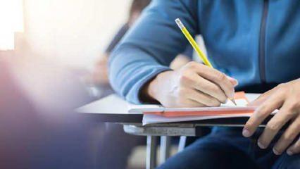 Son Dakika... Liselerde yüz yüze sınavlar ertelendi