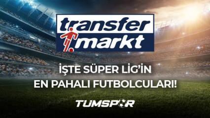Süper Lig'in en değerli 10 oyuncusu! | En çok değeri artan ve düşen Süper Lig futbolcuları!