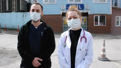 Yoğun bakıma alınacak babası için 'su içirmeyin' uyarısı yapan doktora saldırdı!
