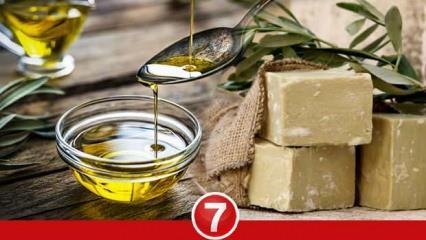 Zeytinyağlı sabunun cilde faydaları nelerdir? Saç bakımında zeytinyağı sabunu kullanımı...