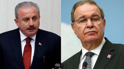 CHP Sözcüsü Faik Öztrak'tan TBMM Başkanı Mustafa Şentop'a ağza alınmayacak sözler