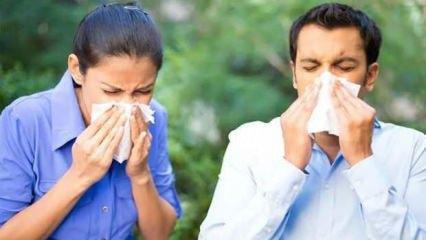 Bahar alerjisi olanlar dikkat: Astıma çevirebiliyor
