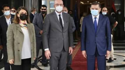AB'den Libya'ya sürpriz ziyaret!