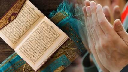 Amenerrasulü okunuşu ve anlamı! Bakara Suresi Amenerrasulü duası fazileti ve meali