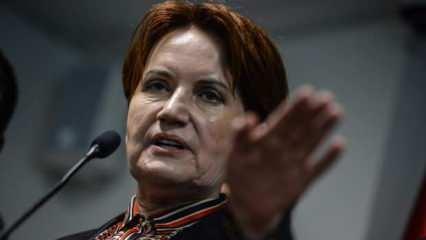 Bildiriye karşı çıkan Akşener'e ağır sözler: Zevzek sensin Gladyoçe!