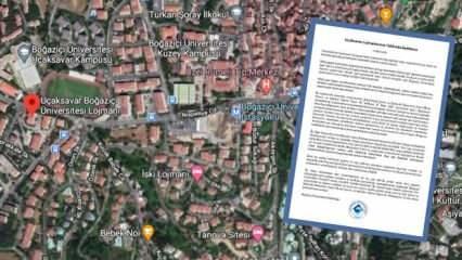 Boğaziçi Üniversitesi'nden Uçaksavar Lojmanları hakkında açıklama