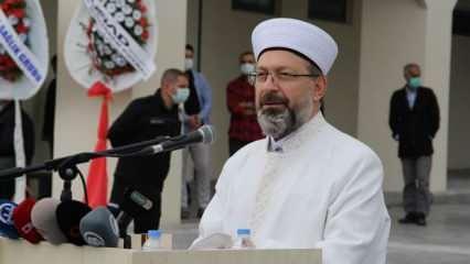 Diyanet İşleri Başkanı Erbaş'tan üniversite camileri açıklaması