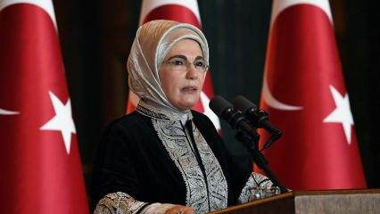 Emine Erdoğan'a anlamlı ziyaret!