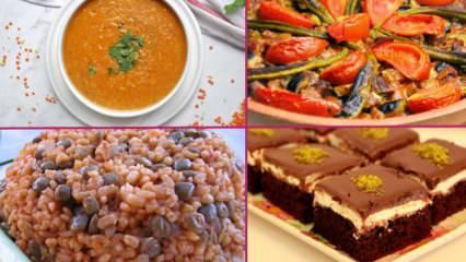 En basit iftar menüsü nasıl hazırlanır? 3. gün iftar menüsü