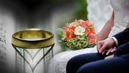 Evlilik duası: Bekarlara acilen evlenmek için dua!