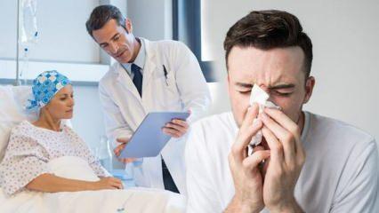Sinüs ve burun boşluğu kanserine dikkat! Sinüzitle karıştırılıyor