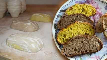 Hem doğal hem renkli! Ekşi mayalı artizan ekmekler yoğun ilgi görüyor!