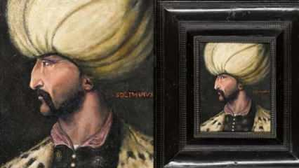 Kanuni Sultan Süleyman'ın portresi, Londra'da rekor fiyata satıldı