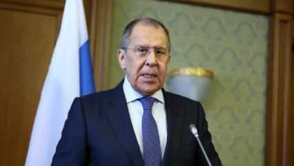 Lavrov'dan 'Türkiye' açıklaması: İlişkilere değer veriyoruz