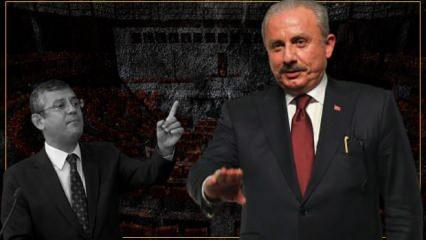 Meclis Başkanı Şentop'tan CHP'li Özgür Özel'e sert yanıt