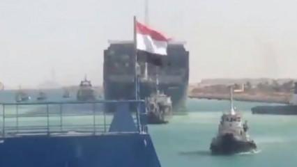 Süveyş Kanalı yeniden açıldı, kriz sona erdi: Ever Given tamamen kurtarıldı