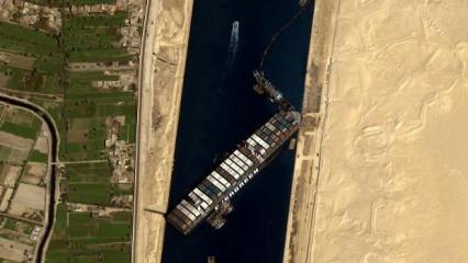 Süveyş Kanalı'ndaki kazaya ilişkin soruşturma başlatıldı