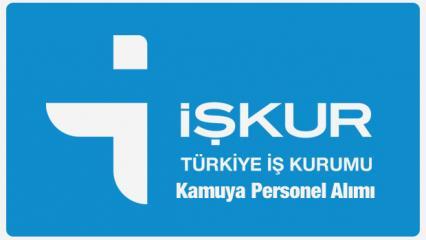 İŞKUR'dan kamu kurumlarına personel alımı sona eriyor!