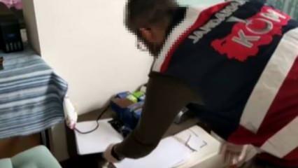 Terör örgütü mensuplarına sahte nüfus cüzdanı hazırlayan şüpheli yakaladı
